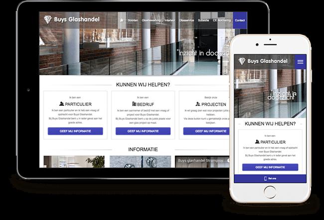 Een transparante en heldere website