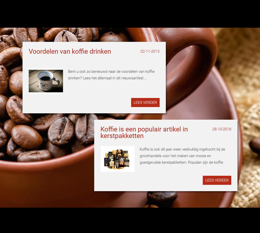 Vernieuwde webshop