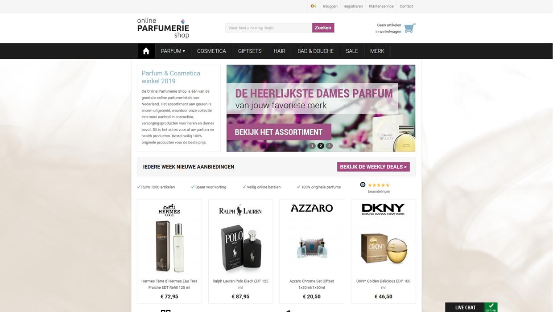 Online Parfumerie Shop