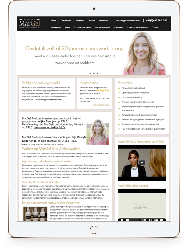 Lancering van de website (september 2013)