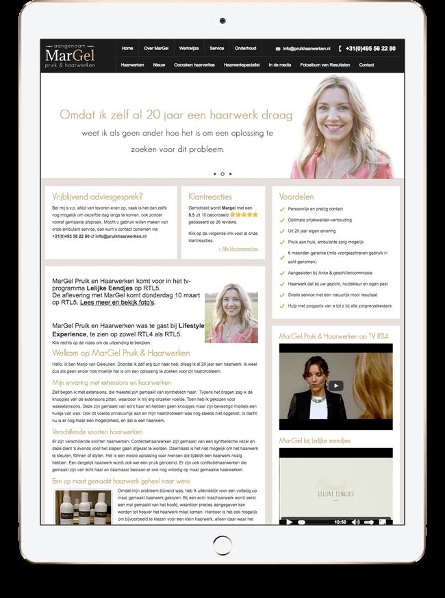 Lancering van de website (september 2013)