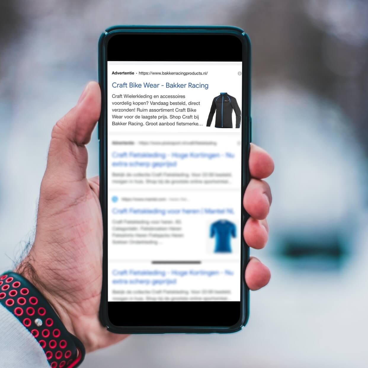Nieuw! Google Ads image extensies