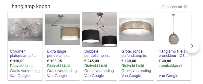 Google Shopping bedrijf promoten