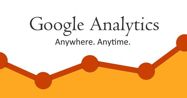 Google Analytics om de statistieken bij te houden